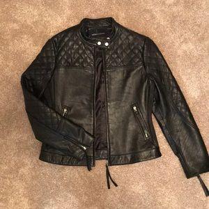 Moda International Leather Jacket